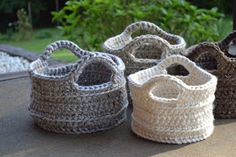 Crochet in Color: Basket Burnout