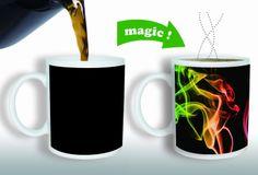 Heat Sensitive Color Changing Coffee Mug