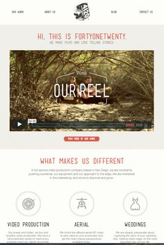 White Ink, Simple clean web layout. Originally pinned by Tim Sullentrup