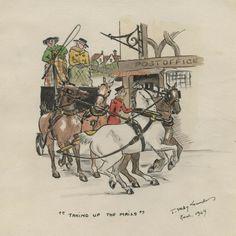 Mail Coach Joan Selby Lowndes 1949 Original Watercolour painting Artwork Watercolour Painting, The Originals, Artwork, Ebay, Work Of Art, Auguste Rodin Artwork, Artworks, Illustrators