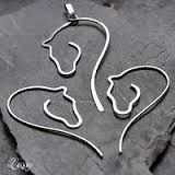 Image result for wire wrapped horse head necklace