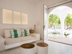 Vila Monte is a boho chic hotel set across a stunningly landscaped nine-hectare property located in Portugal's magical Algarve Region. Algarve, Beautiful Villas, Velvet Cushions, Nature Decor, White Houses, All White, Portugal, Upholstery, Farmhouse