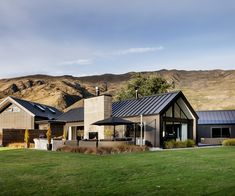 This black-clad Wanaka home brings contemporary style to a rustic setting