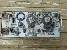 Rare wireless est # 19 mk3 radio tube canadian british military ww2