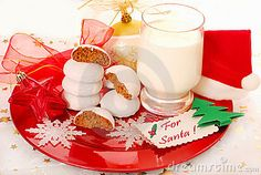 Photo about Glass of milk and gingerbread cookies for santa claus. Image of waiting, milk, white - 21732195 Milk Cookies, No Bake Cookies, Baking Cookies, Christmas Eve Traditions, Family Traditions, Christmas Candy, Gingerbread Cookies, Glass Of Milk, Santa