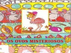Os Ovos Misteriosos - authorSTREAM Presentation Childrens Books, Childhood, Kids Rugs, Education, Comics, Professor, 1, Easter, Literature Books