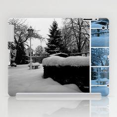 Winter Garden Photo Collage iPad Case by Christine aka stine1 - $60.00