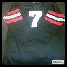 low priced 8a589 152bf authentic michael vick atlanta falcons jersey