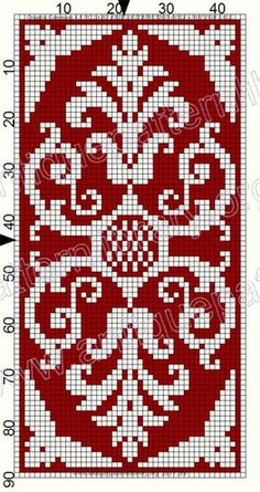 ru / Фото # 127 – Le Filet Ancien au Point de Reprise III – gabbach – The Best Ideas Cross Stitch Borders, Cross Stitch Flowers, Cross Stitch Charts, Cross Stitch Designs, Cross Stitching, Cross Stitch Embroidery, Cross Stitch Patterns, Knitting Charts, Knitting Stitches