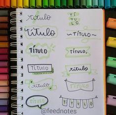 Bullet Journal Frames, Bullet Journal Headers, Journal Fonts, Bullet Journal Notebook, Bullet Journal Ideas Pages, Bullet Journal Inspiration, Pretty Letters, Stabilo Boss, Hand Lettering Tutorial