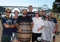 Join Rogue Ales July 14, 2012 for Barrel to Keg Relay Race