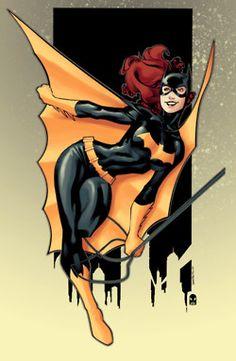 A Happy Batgirl