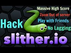Watch this video and learn how to hack Slither.io game Latest Mod April 2016 https://www.youtube.com/watch?v=nA3jH7_-_Og 100% Working Get lot of Score in short time, Zoom out of Screen , Play with Friends without any Lag and many more Tricks and Tips