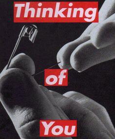 Barbara Kruger, Untitled (Thinking of You), 1999–2000