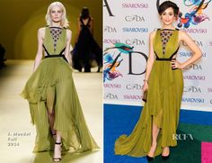 Emmy Rossum In J. Mendel – 2014 CFDA Fashion Awards