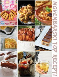 Recepte iz prethodnog broja možete preuzeti na našem sajtu:    http://mezze.rs/recepti/    *Bagels  *Kajzerice  *Čorba sa heljdom  *Lepinja sa kajmakom  *Majmunski hleb  *Pita sa kafom  *Urmice  *Pekmez od karamelisanih dunja  *Vijetnamska kafa