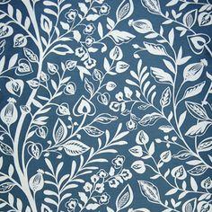 Wisley Fabric - Petrol (WISLEYPETROL) - Voyage Cademuir Fabric Collection