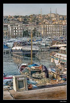 Pescatore a Mergellina - Napoli