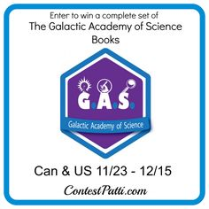 Galactic Academy of Science Complete Book Set Giveaway 12/15 - Newly Crunchy Mama Of 3