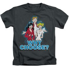 """Checkout our #LicensedGear products FREE SHIPPING + 10% OFF Coupon Code """"Official"""" Archie Comics / Why Choose - Short Sleeve Juvenile 18 / 1 (4) - Archie Comics / Why Choose - Short Sleeve Juvenile 18 / 1 (4) - Price: $24.99. Buy now at https://officiallylicensedgear.com/archie-comics-why-choose-short-sleeve-juvenile-18-1-4"""
