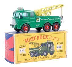"""Matchbox Kingsize No.K12 Foden """"BP"""" Wreck Truck"""