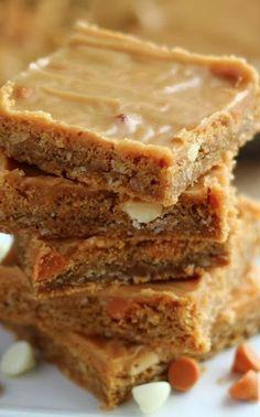 Butterscotch Peanut Butter Bars Recipe