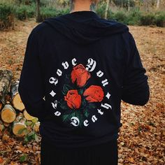 Hallow Collective - Love You To Death Hoodie back