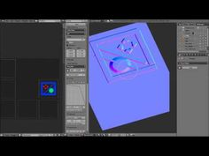 Painting normal maps in blender, real time. Link in description. - YouTube