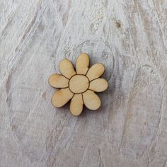 12 Pack Wooden MINI FLOWER Shapes Fairy Door Accessory Code MINI FLOWERS | eBay
