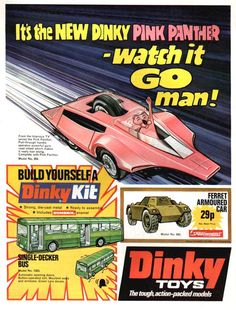Used to wish I had a Pink Panther car.