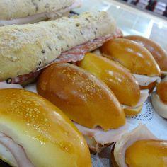 Mini pebete sandwiches make the perfect party snack. #mini #sandwich #snack #nahuen