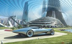 'Mercedes-Benz Future World' Concept Car