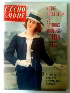 L'echo de la mode n°19 du 08/05/1960