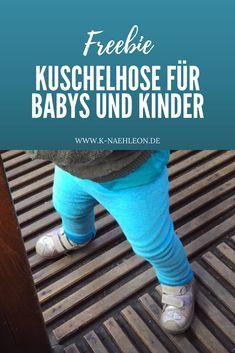 Ein Freebook für eine Kuschelhose: Mit dieser kostenlosen Anleitung kannst du ruckzuck eine Hose für Babys und Kinder nähen.