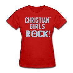 Christian Girls Rock Tee