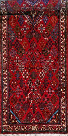 """Maymeh Persian Rug, Buy Handmade Maymeh Persian Rug 3' 5"""" x 13' 4"""", Authentic Persian Rug"""