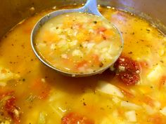 Cheeseburger Chowder, Food And Drink, Pasta, Soups, Baking, Sweet, Cook, Greek Dishes, Greek Recipes