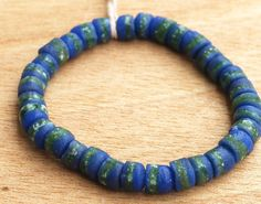 African Recycled Beads Krobo Beads Barrel Beads by Krobobeads
