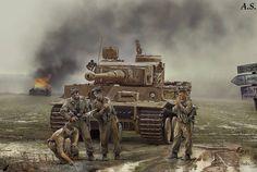 Tiger of 3rd SS