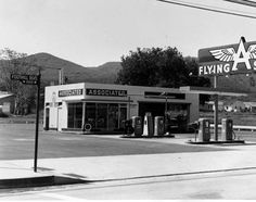 Flying A service station :: San Fernando Valley History
