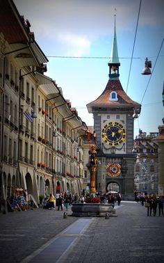 Beautiful Bern(e) http://www.travelandtransitions.com/destinations/destination-advice/europe/