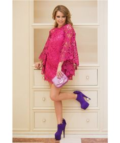 Beautiful pink dress, perfect for all summer events http://talis.ro/the-short-occasion-dress-afrodita/