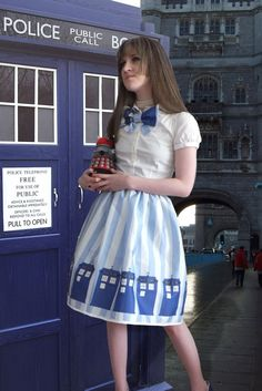 Dr. Who dress love it