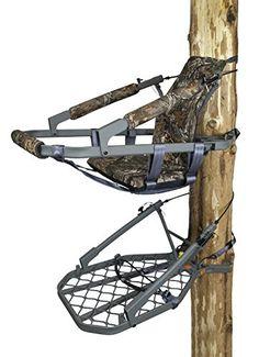 Hawk WARBIRD LT Aluminum Climber   http://huntinggearsuperstore.com/product/hawk-warbird-lt-aluminum-climber/