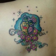Sweetest owl tattoo ever! Body Art Tattoos, New Tattoos, I Tattoo, Tatoos, Baby Owl Tattoos, Pretty Tattoos For Women, Owl Who, Owl Always Love You, Cool Tats