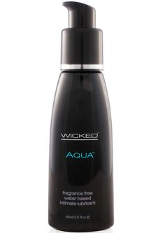 Buy Wicked Aqua Water Based Lubricant Unscented 2 Ounce online cheap. SALE! $8.99