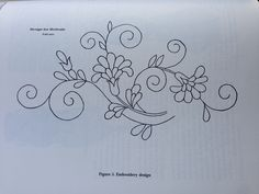 Victorian embroidery for reticule