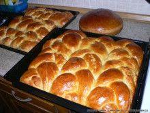 tsourekia-newyear2012-3 Sugar Bread, Sweet Corner, Greek Easter, How To Make Bread, Bread Making, Greek Recipes, Easter Recipes, Sweet Desserts, Biscotti