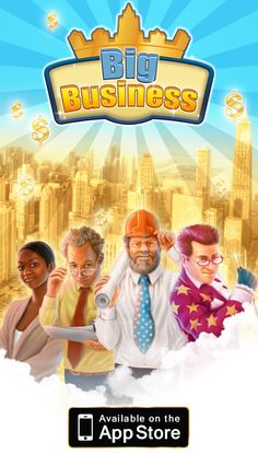#BigBusiness is finally out on #iPad! http://itunes.apple.com/app/big-business-hd/id527939715