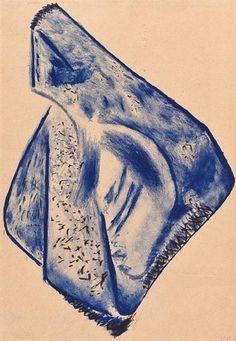 Naum Gabo, Opus xix (composition in blue)